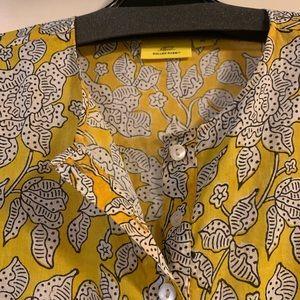 Roller Rabbitt size XS maxi dress yellow